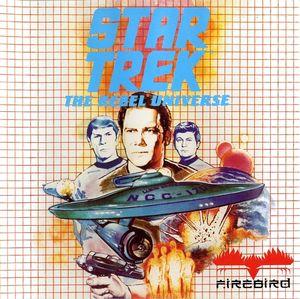 Cover for Star Trek: The Rebel Universe.