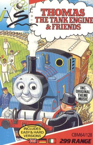 Cover for Thomas the Tank Engine & Friends.