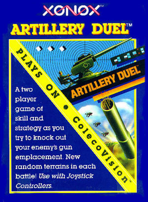 Cover for Artillery Duel.