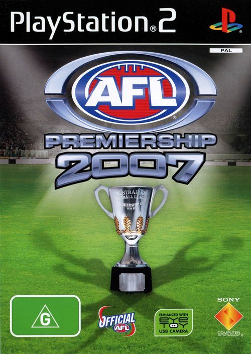 Cover for AFL Premiership 2007.