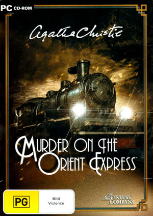 Cover for Agatha Christie: Murder on the Orient Express.
