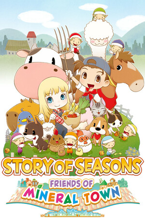 Cover for Story of Seasons: Friends of Mineral Town.