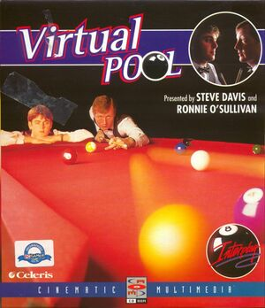 Cover for Virtual Pool.
