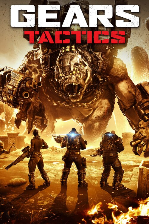 Cover for Gears Tactics.