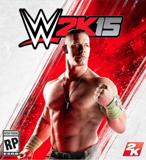Cover for WWE 2K15.