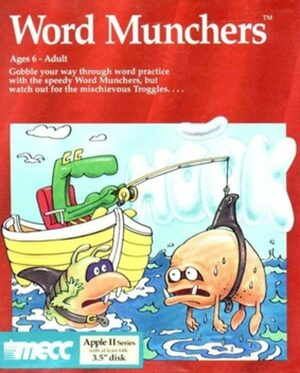 Cover for Word Munchers.