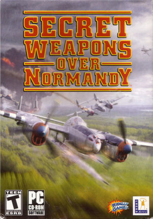 Cover for Secret Weapons Over Normandy.