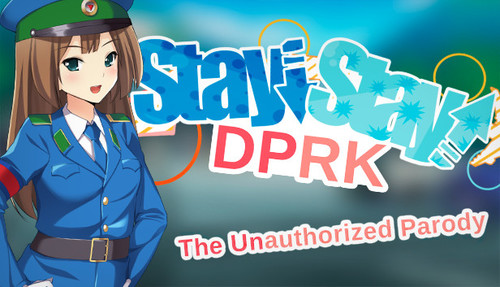 Cover for Stay! Stay! Democratic People's Republic of Korea!.