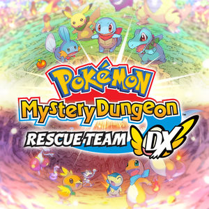Cover for Pokémon Mystery Dungeon: Rescue Team DX.