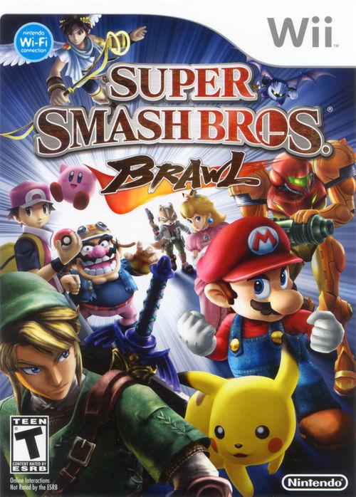 Cover for Super Smash Bros. Brawl.