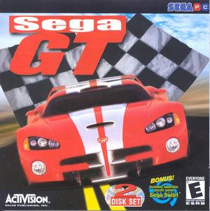 Cover for Sega GT.