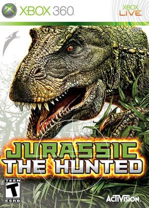 Cover for Jurassic: The Hunted.