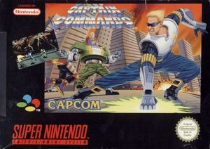 Cover for Captain Commando.