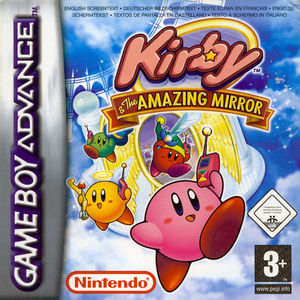 Cover for Kirby & the Amazing Mirror.