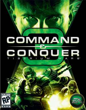Cover for Command & Conquer 3: Tiberium Wars.