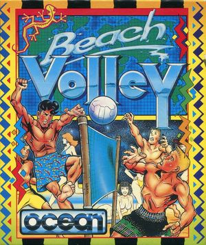 Cover for Beach Volley.