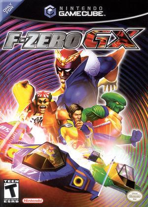 Cover for F-Zero GX.