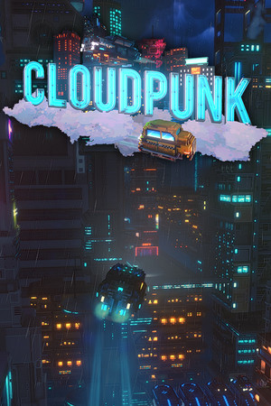 Cover for Cloudpunk.