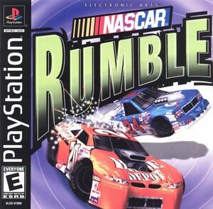 Cover for NASCAR Rumble.