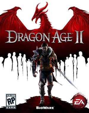 Cover for Dragon Age II.