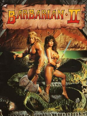 Cover for Barbarian II: The Dungeon of Drax.