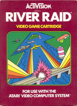 Cover for River Raid.
