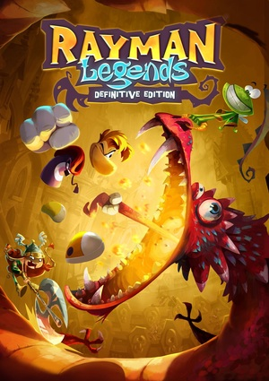Cover for Rayman Legends.