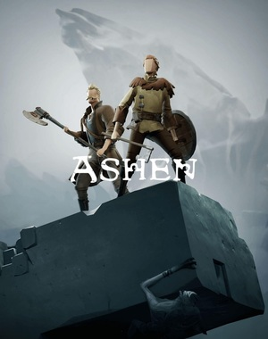 Cover for Ashen.