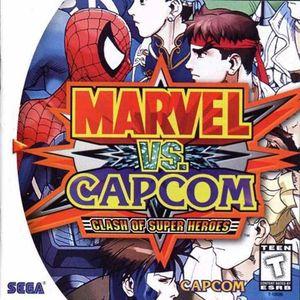Cover for Marvel vs. Capcom: Clash of Super Heroes.