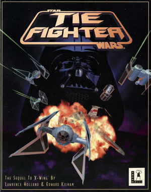 Cover for Star Wars: TIE Fighter.