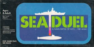 Cover for Sea Duel.