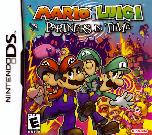 Cover for Mario & Luigi: Partners in Time.
