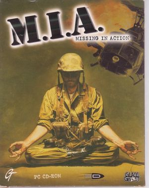 Cover for Missing in Action.