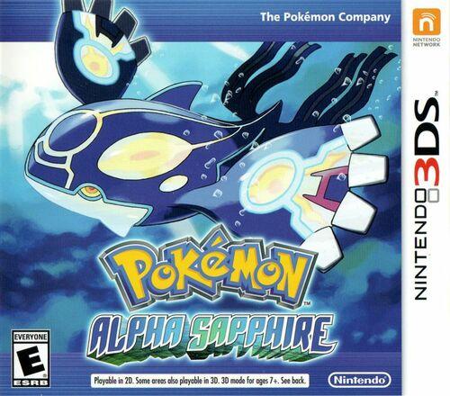 Cover for Pokémon Alpha Sapphire.
