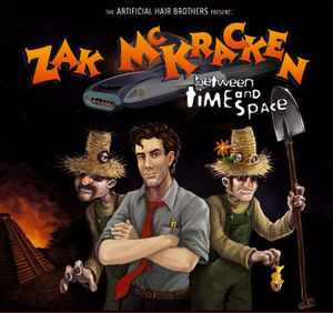 Cover for Zak McKracken: Between Time and Space.