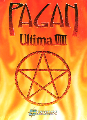 Cover for Ultima VIII: Pagan.