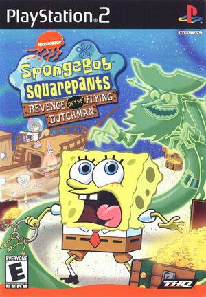 Cover for SpongeBob SquarePants: Revenge of the Flying Dutchman.