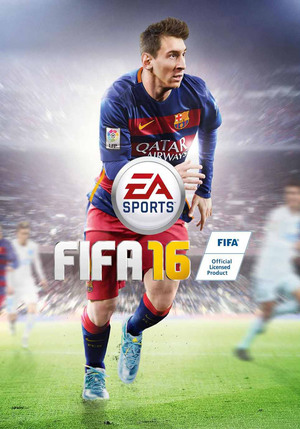 Cover for FIFA 16.