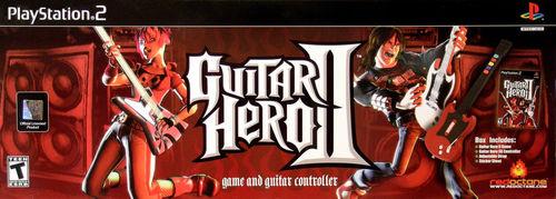 Cover for Guitar Hero II.