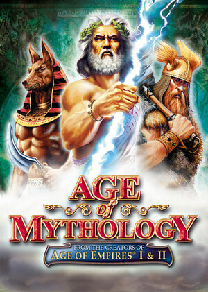 Cover for Age of Mythology.