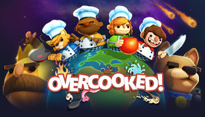 Cover for Overcooked.