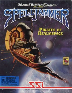 Cover for Spelljammer: Pirates of Realmspace.