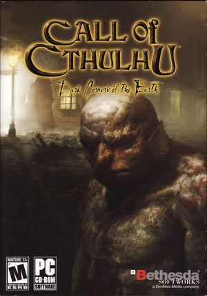 Cover for Call of Cthulhu: Dark Corners of the Earth.