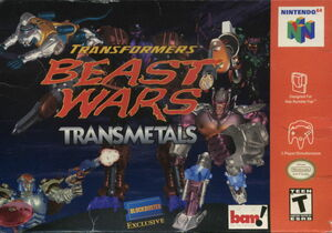 Cover for Transformers: Beast Wars Transmetals.