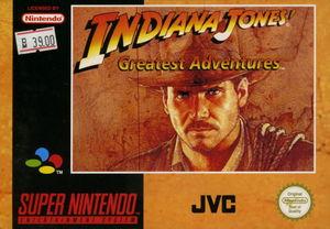 Cover for Indiana Jones' Greatest Adventures.