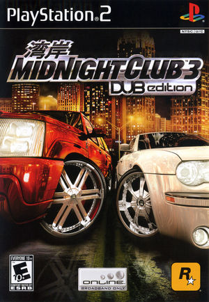 Cover for Midnight Club 3: DUB Edition.