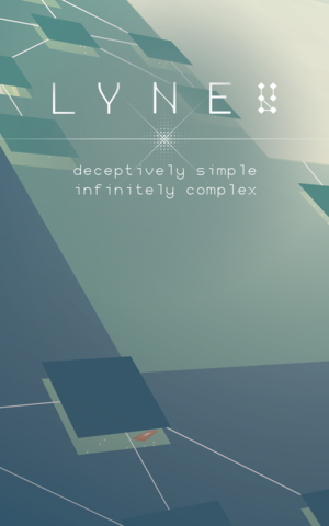 Cover for LYNE.