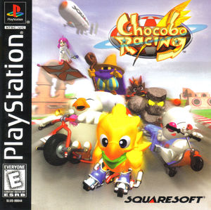 Cover for Chocobo Racing.