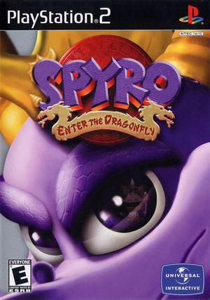 Cover for Spyro: Enter the Dragonfly.