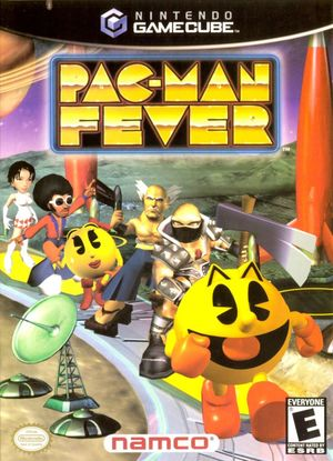 Cover for Pac-Man Fever.